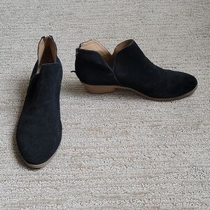 Kenneth Cole Reaction Suede Ankle Boots Size 7M